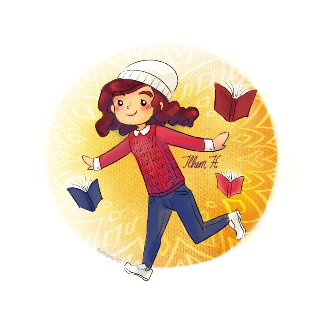 Un mignon petit avatar en chibi de moi par la divine Poncho ! Ne suis-je pas adorable en avatar ?