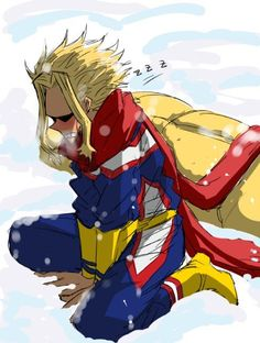 All Might personnage de My Hero Academia