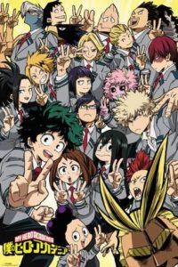 Poster de My Hero Academia.